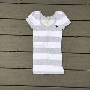 Abercrombie Kids Striped Short Sleeve Shirt